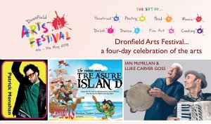 Dronfield Town Council support inaugural Arts Festival