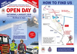 Joint Police & Fire Open Day - 4 August 2018