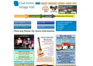 Coal Aston Village Hall online booking system live from 1st April