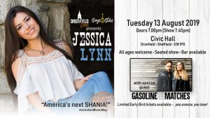 Dronfield Live presents Jessica Lynn (Live Out Loud Tour)