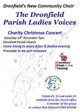 Charity Christmas Concert by Dronfield Parish Ladies Voices Choir