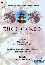Meersbrook Park Church Operatic Society present...The Mikado