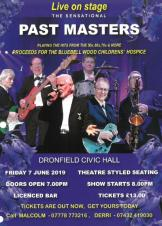 Bluebell Wood Charity Night - Pastmasters Live in Concert